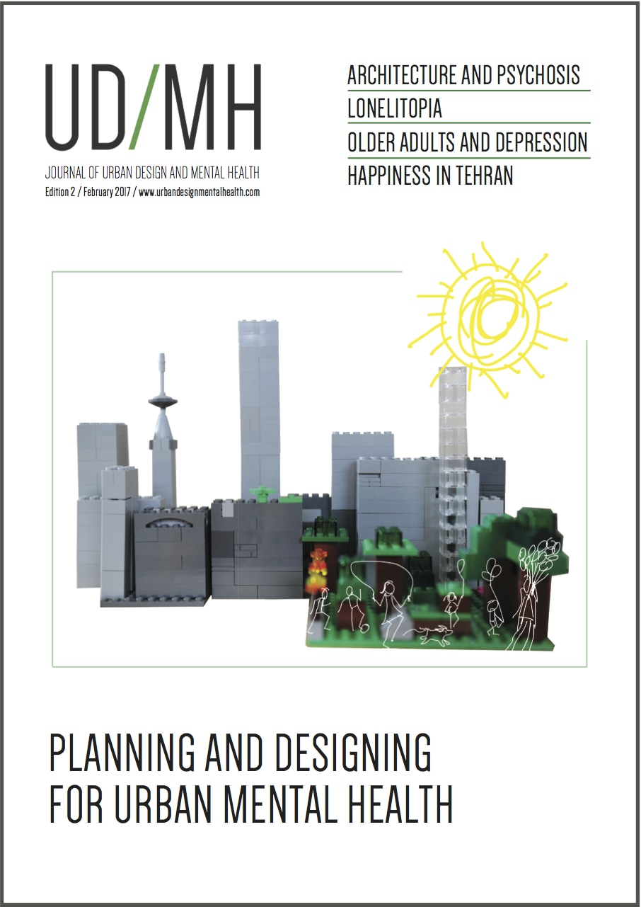 The Journal Of Urban Design And Mental Health Centre For Urban Design And Mental Health